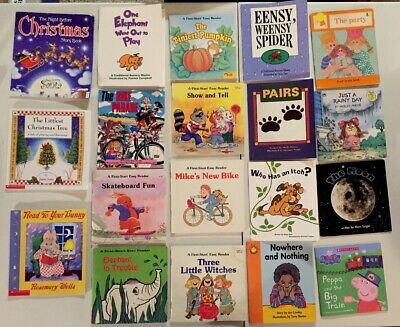 Lot of 25 Learn To Read, Easy Reader Books