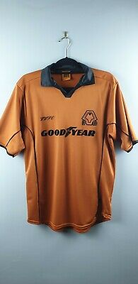 Football Shirt:Wolves2000/01WWFCHomeOfficial ReplicaSUsed