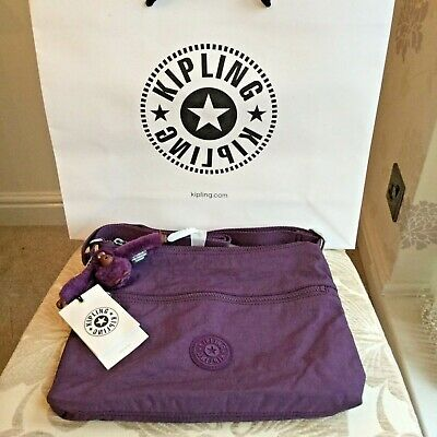 kipling Bag Eyes Wide Open Art M Purple