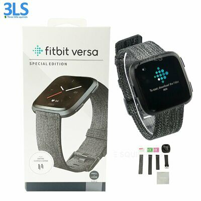 Fitbit Versa Lite & Special Edition Smartwatch Activity -FB505 Has Fitbit PAY