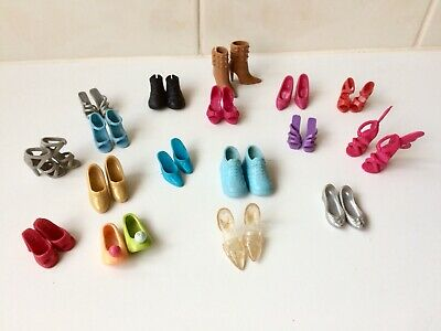 Vintage Bulk Barbie Doll And Family Shoes - 17 Pairs - Boots Shoes