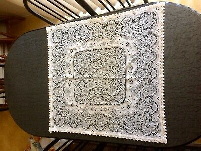 Vintage Lace Tablecloth - Supper Cloth