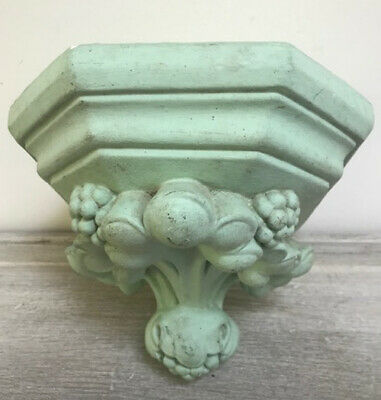 Wonderful Old French Painted Plaster Stand