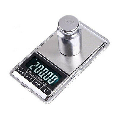 Device LCD Display Weight Balance Electronic Weighing Digital Pocket Scales