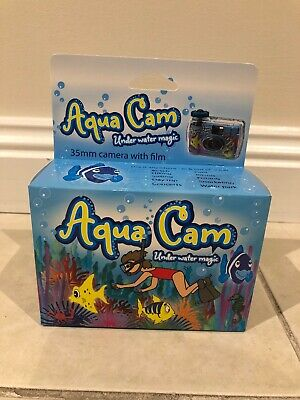 Aqua-Cam Waterproof Underwater Disposable Camera 3-5M Wedding Honeymoon 36exposu