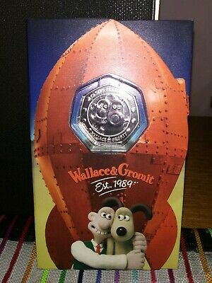 wallace and gromit 50p Rare BUNC 2019 Strike Your Own