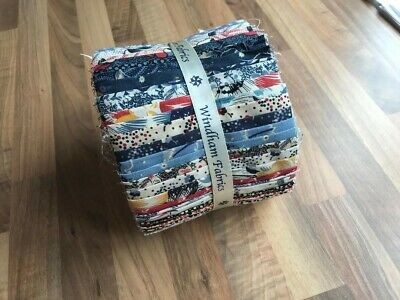 Quilting Fabric Dessert Roll Double Width Jelly Roll
