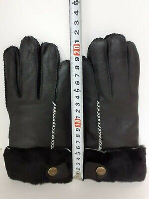 UGG Australia Gloves Women's Black Free Shipping + Tracking Number