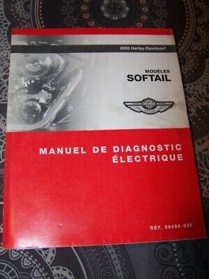 3U - Manuel de diagnostic Electrique Harley Davidson Officiel SOFTAIL 2003