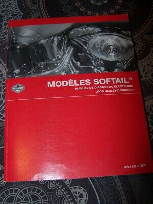 43- Manuel de diagnostic Electrique Harley Davidson Officiel SOFTAIL Models 2005