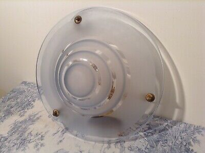 Vintage French Art Deco Style Flycatcher Ceiling Light Uplighter