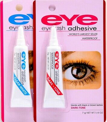 EYE-DUO Eyelash Glue Adhesive Strong Clear / Black Waterproof *BUY 3 GET A GIFT*