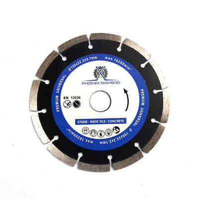 6-Inch General Purpose Laser Welded  Diamond Saw Blade for Concrete & Masonry