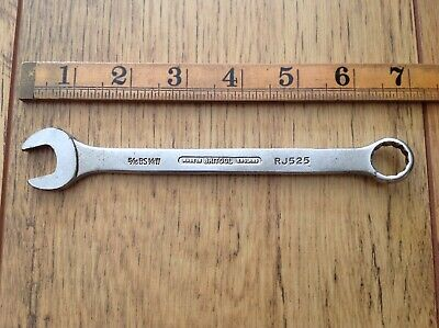 "Vintage Britool 1/4""Whitworth Combination Spanner RJ525"