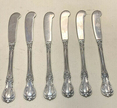 "Old Master By Towle Set Of 6 Butter Knifes 5 1/2"" Long"