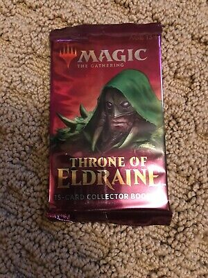 THRONE OF ELDRAINE COLLECTOR BOOSTER PACK (1x)