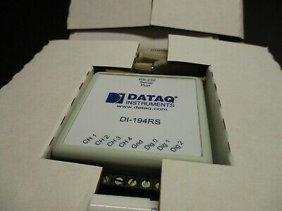 Dataq Instruments Di-194Rs Serial Port New In Box