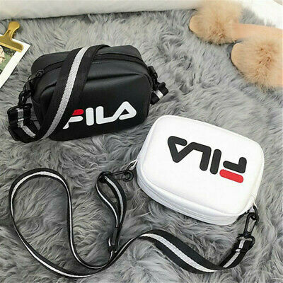 Women FILA Satchel Shoulder Bag Cross Body Handbag Messenger Tote Over Bags UK