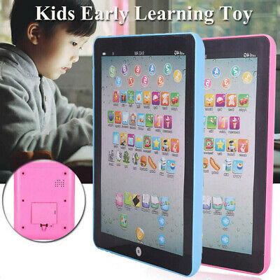 Baby Tablet Educational Toys Kids Toddler Learning English Gift E8V9Y