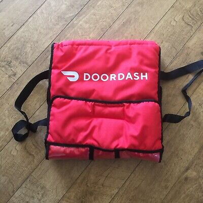 Official Door Dash Insulated Food Delivery Hot/Cold Bag