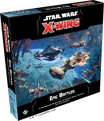 Star Wars X-Wing 2.0 Epic Battles Multiplayer Expansion New and Sealed
