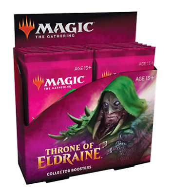Mtg Magic The Gathering Throne Of Eldraine Collector Booster Sealed Box