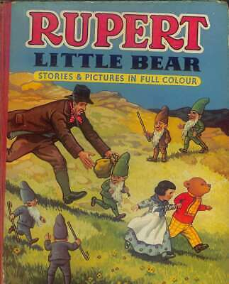Rupert Little Bear Stories and Pictures in Full Colour, Anon, Good Condition Boo