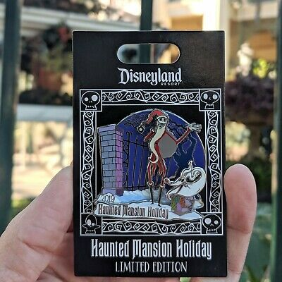 Jack Zero Haunted Mansion Holiday Pin 2019 Nightmare Before Christmas LE 3000