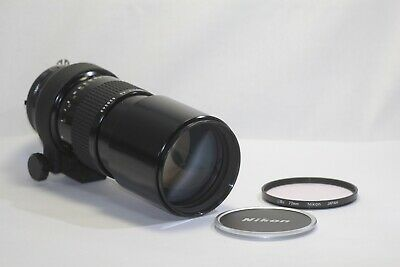 Nikon Nikkor 300mm F/4.5 Telephoto Ai MF Lens Made In Japan