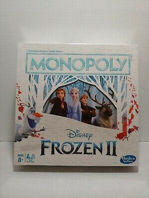 Monopoly Game Disney Frozen II Edition