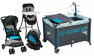 Baby Stroller Travel System with Car Seat Playard High Chair Combo New Boxed
