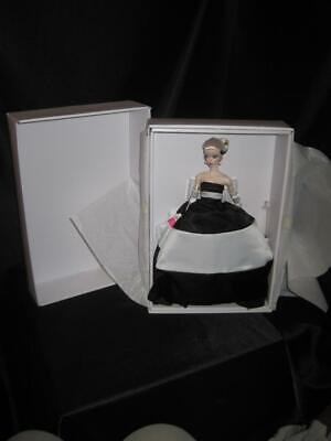 60th years of Inspiring Girls Barbie Black and White Forever Doll Silkstone NRFB