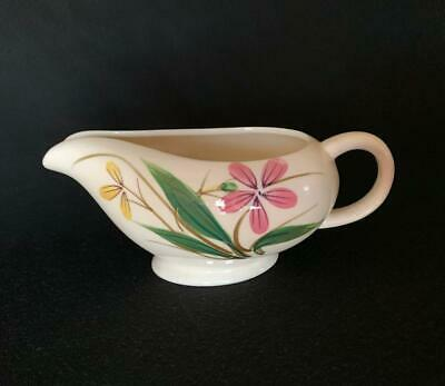 Vintage Maruta Ware Gravy Boat Hand Painted Japan
