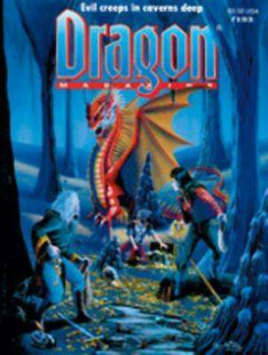 """TSR Dragon Magaz #193 """"Monsters For Caverns And Crypts, The Known World  Mag EX"""