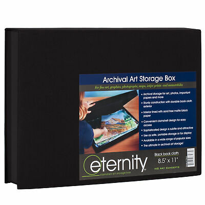 HG Concepts Art Photo Storage Box Eternity Archival Clamshell Artwork Documents