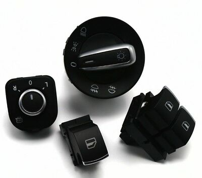 Switches, Control, Button, Veteran, Lights Manual/Auto for Golf, Polo, Scirocco