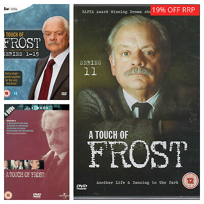 A Touch Of Frost DVD Complete Series 1 2 3 4 5 6 7 8 9+ Collection Season 1-15