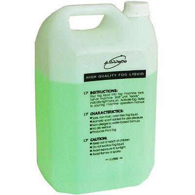 Fog Smoke Machine Liquid Fluid 5L Water base For Standard Fog Smoke Machines