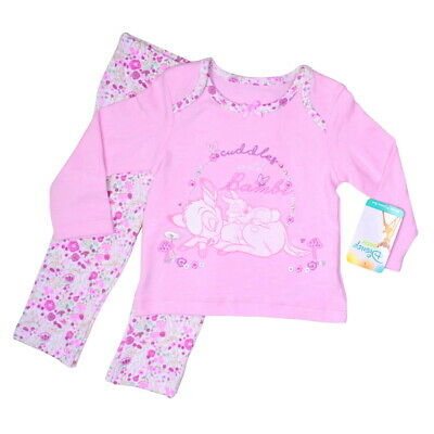 DISNEY BABY GIRL BAMBI COTTON PYJAMAS 2 PIECE SET PINK  3 months to 24 months