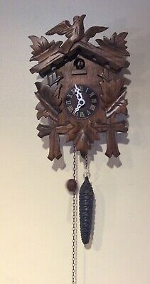 Antique Cuckoo clock made in Germany, working