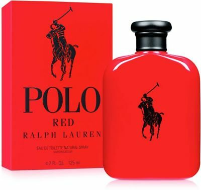 RALPH LAUREN POLO RED EDT 125ml RETAIL SEALED RRP £67 PERFECT GIFT FATHERS DAY