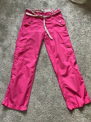 Indigo Collection At Marks And Spencer Girls Pink Trousers Age 14 Years