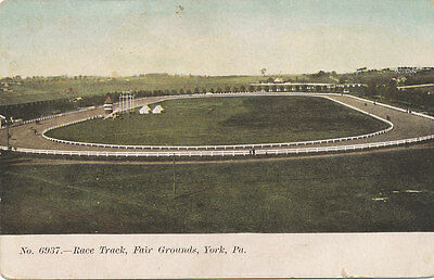 York PA * Race Track  Fair Grounds  ca. 1906