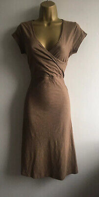 Empirical Horny Toad Brown Dress Organic Cotton Blend Size Small
