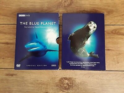 The Blue Planet Special Edition 4 Disc DVD Set Narrated By David Attenborough