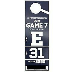 Penn State vs Rutgers Football Reserved Parking Pass - Lot 31 (old purple lot)