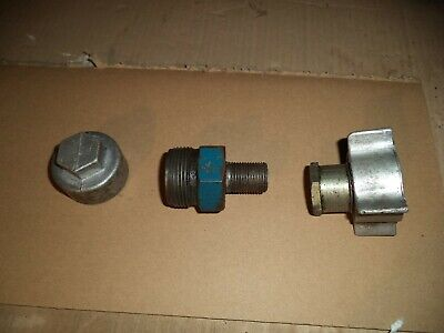 Exactor Sterling Tractor Hydraulic Coupling Cap Female Tipping Trailer Pipe
