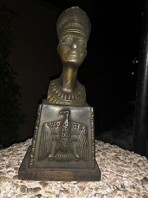 Queen Nefertiti Egyptian Statue Royal Sculpture Ruler