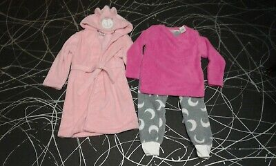 Dressing gown and p.j set age 7-8 years old bnwt