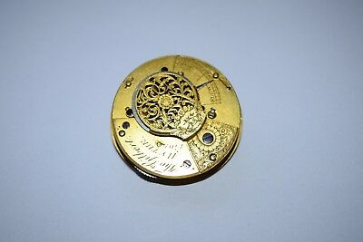 antique small  pocket watch movement